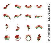 belarus flag  vector... | Shutterstock .eps vector #1270122550