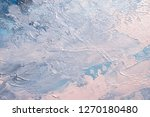 abstract oil paint texture on... | Shutterstock . vector #1270180480