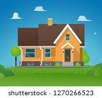 vector illustration cartoon... | Shutterstock .eps vector #1270266523