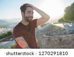 young man happy and laughing | Shutterstock . vector #1270291810
