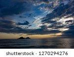 beaches scenary at sundown | Shutterstock . vector #1270294276