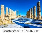 the temple of zeus of... | Shutterstock . vector #1270307749