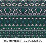 peruvian american indian... | Shutterstock .eps vector #1270323670