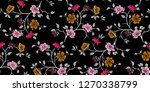 seamless floral pattern in... | Shutterstock .eps vector #1270338799