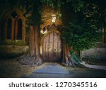 Small photo of St Edward's church, Stow on the wold, Crossways House the Square, Cheltenham,Cotswolds, England in June 2018