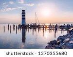 lighthouse at lake neusiedl ...   Shutterstock . vector #1270355680