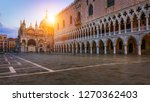 san marco square with campanile ...   Shutterstock . vector #1270362403