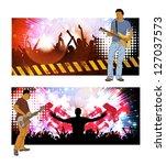 concert. vector banner | Shutterstock .eps vector #127037573