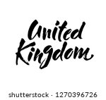 united kingdom hand drawn ink... | Shutterstock .eps vector #1270396726