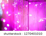 abstract purple pink and white... | Shutterstock . vector #1270401010