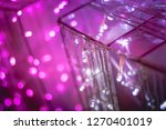abstract purple pink and white... | Shutterstock . vector #1270401019
