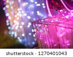 abstract purple pink and white... | Shutterstock . vector #1270401043