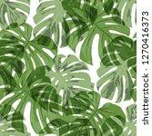 tropical pattern. seamless... | Shutterstock .eps vector #1270416373