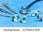 surgical instruments and... | Shutterstock . vector #1270417243