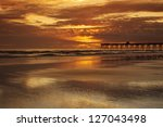 Sunrise At Sunglo Pier Daytona...