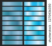 blue metal foil. texture... | Shutterstock .eps vector #1270436350