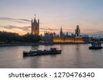 The Houses Of Parliament And...