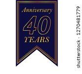 anniversary  40 years...