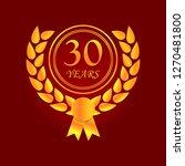 anniversary  30 years...