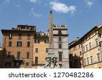 obelisk in pantheon square  ... | Shutterstock . vector #1270482286