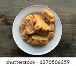 freshly baked rusks on a rustic ...   Shutterstock . vector #1270506259