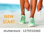 new start fitness new year... | Shutterstock . vector #1270510360