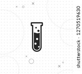laboratory bulb icon  test tube ...   Shutterstock .eps vector #1270519630