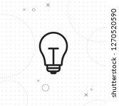 lightbulb icon  vector best...   Shutterstock .eps vector #1270520590