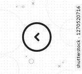 left button  vector best line...   Shutterstock .eps vector #1270520716