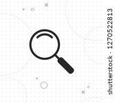 magnifier icon  vector best...   Shutterstock .eps vector #1270522813