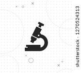 microscope icon  vector best...   Shutterstock .eps vector #1270524313