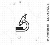 microscope symbol  vector best...   Shutterstock .eps vector #1270524376