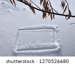hand drawn square shape on... | Shutterstock . vector #1270526680