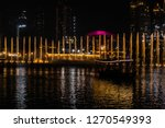 the dubai fountain   december... | Shutterstock . vector #1270549393