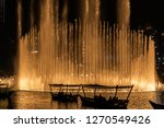 the dubai fountain   december... | Shutterstock . vector #1270549426