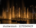 the dubai fountain   december... | Shutterstock . vector #1270549429