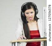 operator | Shutterstock . vector #127056578
