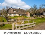 Early Spring View On Giethoorn...
