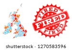 composition of winter and fire... | Shutterstock .eps vector #1270583596