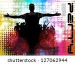 concert poster. vector...