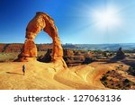 Beautiful Arches National  Park