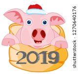symbol approaching new 2019... | Shutterstock .eps vector #1270640176