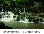 landscape photo view waterfall... | Shutterstock . vector #1270647349