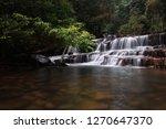 landscape photo view waterfall... | Shutterstock . vector #1270647370