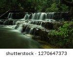 landscape photo view waterfall... | Shutterstock . vector #1270647373