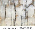 gray bare cement wall background | Shutterstock . vector #1270650256