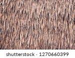 hula skirt style grass straw... | Shutterstock . vector #1270660399