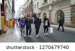shanghai   china   december 9...   Shutterstock . vector #1270679740
