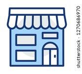 shop   store   building   | Shutterstock .eps vector #1270686970