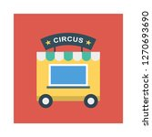 stall   circus   shop  | Shutterstock .eps vector #1270693690